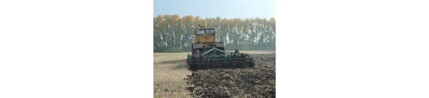 Техника для почвообработки и посева