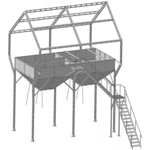 Арматура ЗАВ-10 (2 бункера)