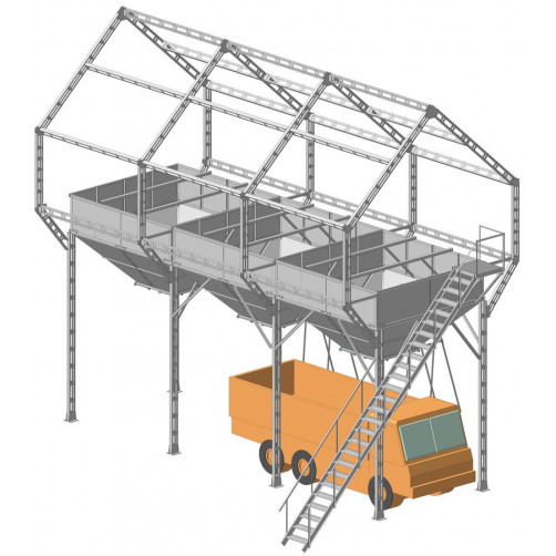 Арматура ЗАВ-20 (3 бункера)