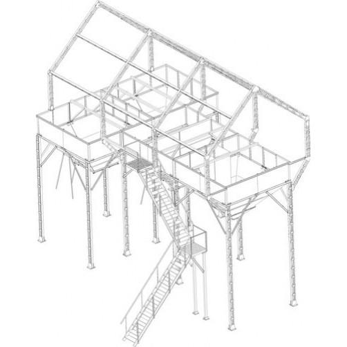 Арматура ЗАВ-40 (4 бункера)
