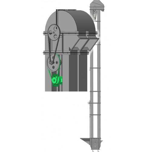 Нория двухпоточная 2НПЗ-20 (контрпривод)