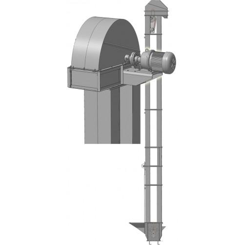 Нория двухпоточная 2НПЗ-20 (мотор-редуктор)