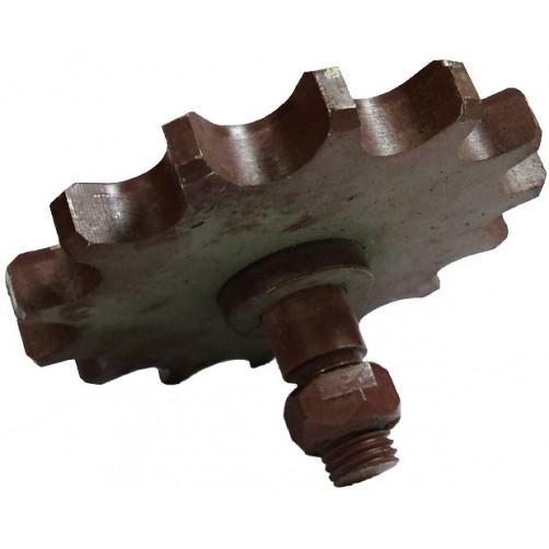Звездочка КТУ-960/01(КТ-6 05040) натяжная привода битера  шаг 25